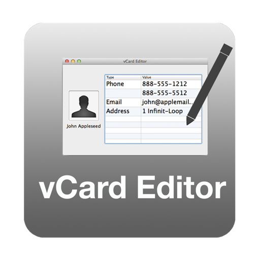 vCard Editor for Mac
