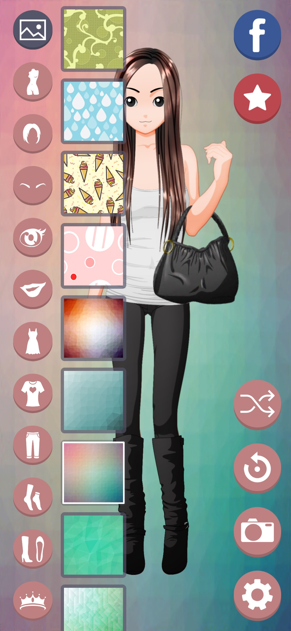 Anime Style Dress Up hack tool