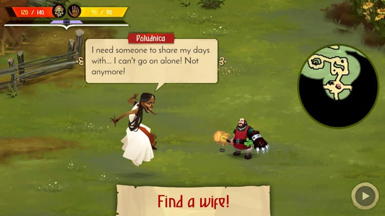 Yaga The Roleplaying Folktale screenshot-4