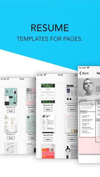 Resume Templates屏幕截图1