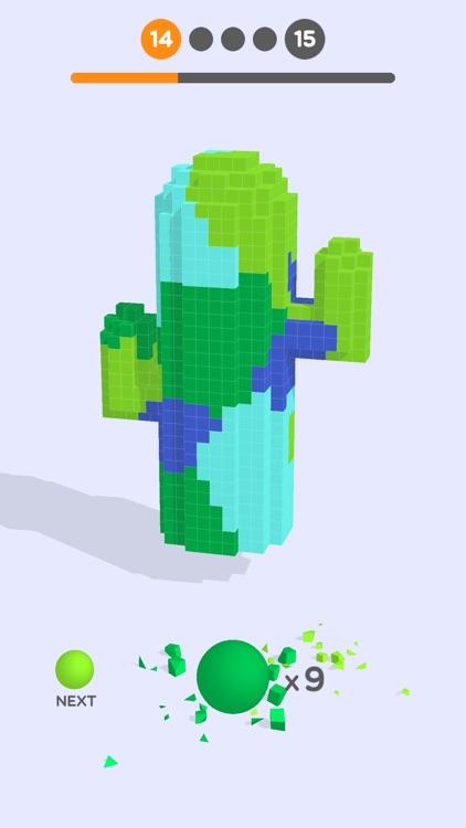 Cube Paint 3D screenshot-3