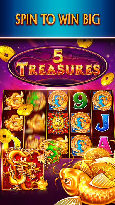 Slots Game: 88 Fortunes Casino Screenshot