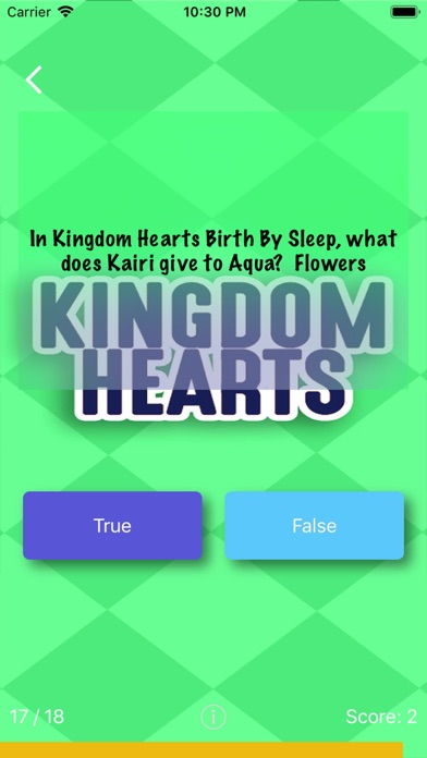 Quiz & Soul For Kingdom Hearts screenshot 2