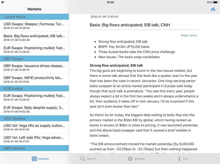 Total Derivatives for iPad