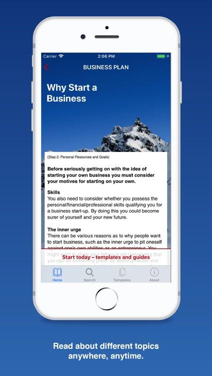 Business Plan for Startups screenshot-4