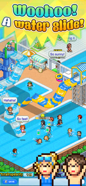 ‎Pool Slide Story Screenshot