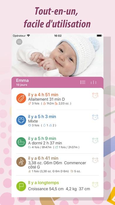 Screenshot #1 pour Baby Tracker Pro - Bébé Suivi