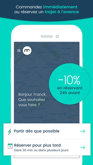 Screenshot #2 pour Marcel - Chauffeur VTC citoyen