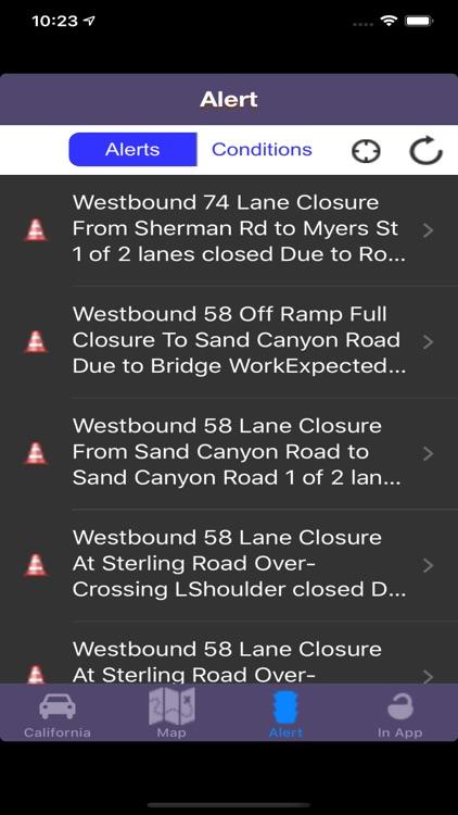 Road Conditions Lite screenshot-4