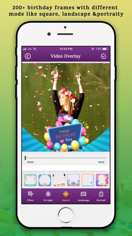 Birthday Video Editor screenshot-4