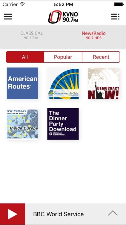 KVNO Public Radio App screenshot-3