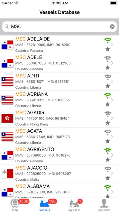 Screenshot for VesselFinder Pro in Austria App Store