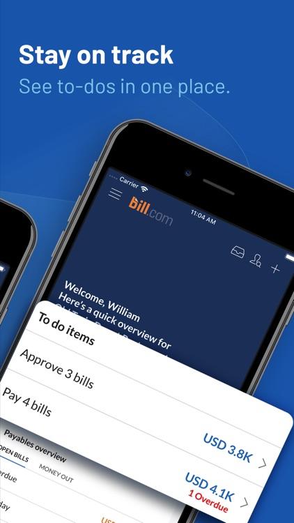 Bill.com Business Payments screenshot-3
