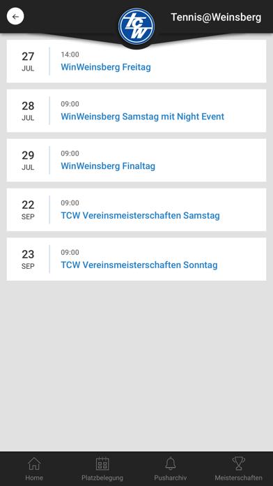 Tennis@WeinsbergScreenshot von 4