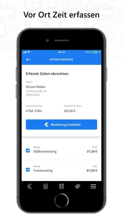 invoiz - Rechnung schreiben screenshot-3