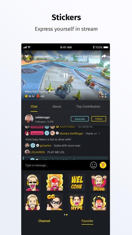 DLive · Live Stream Community screenshot-4