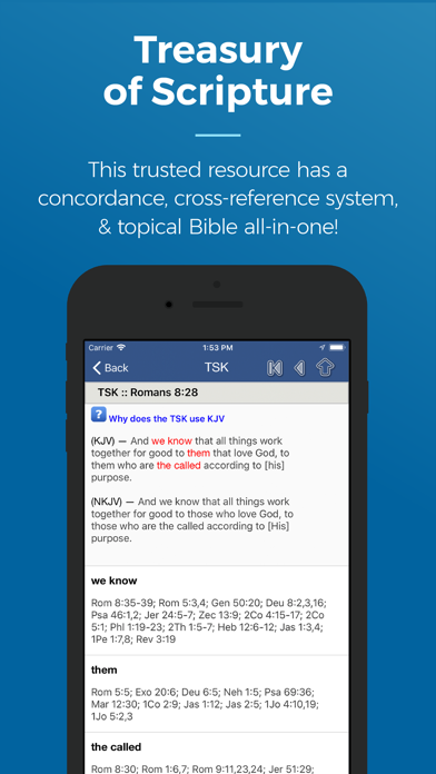 Blue Letter Bible review screenshots