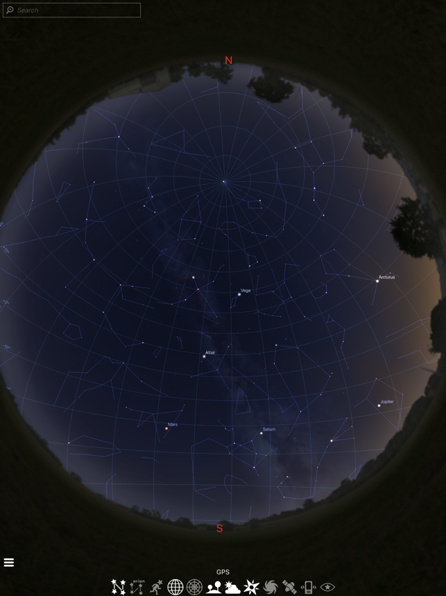 ‎Stellarium Mobile Himmelskarte Screenshot