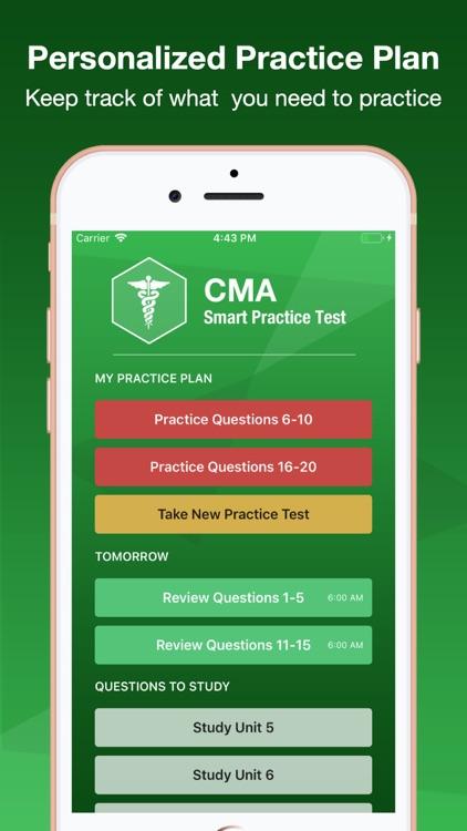 CMA Smart Exam Prep screenshot-3