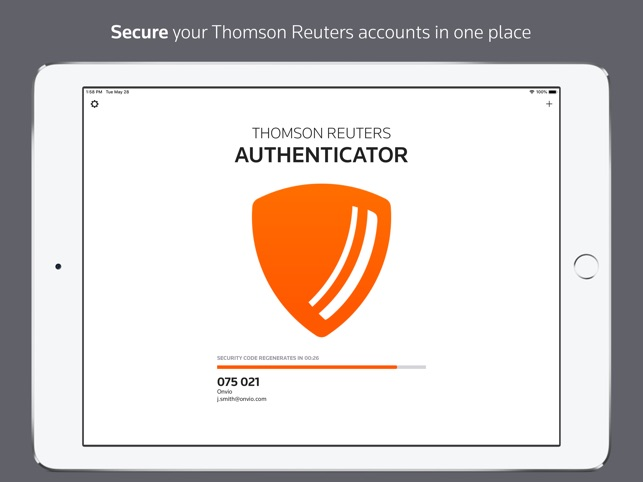 Thomson Reuters Authenticator on the App Store