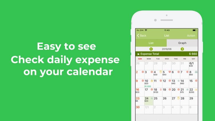 Quick Money Recorder: Expense