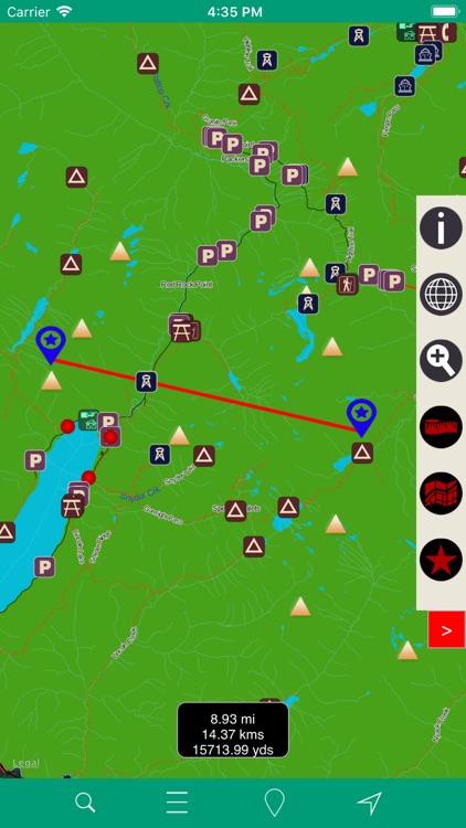 Glacier National Park – GPS