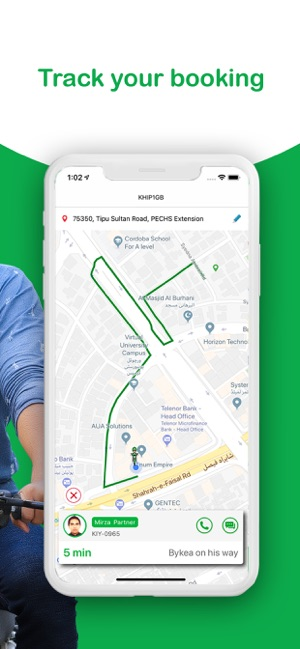 Bykea Bike Taxi & Delivery App on the App Store