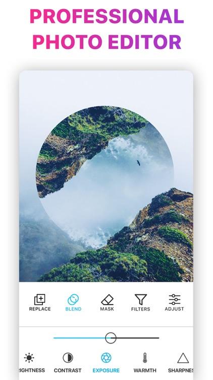 Pic Merge Photo Blender Editor screenshot-4