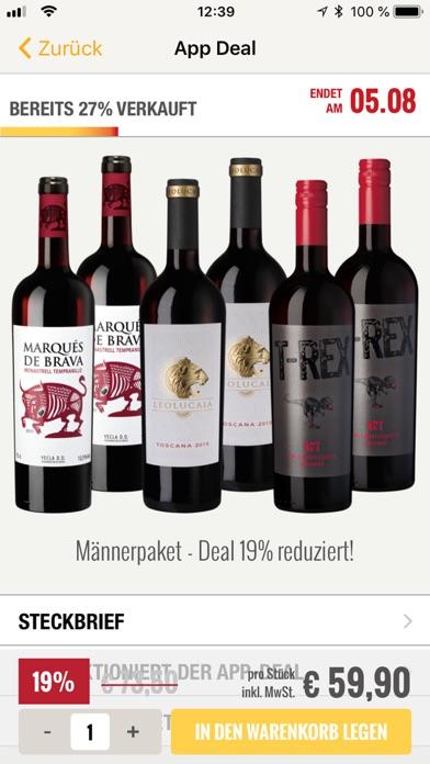 Screenshot for Hawesko - Wein mobil kaufen in Germany App Store