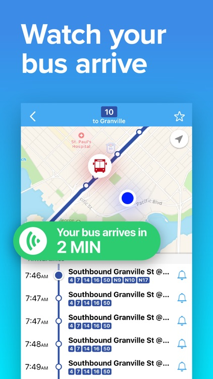 Vancouver Transit: Bus & Train screenshot-2