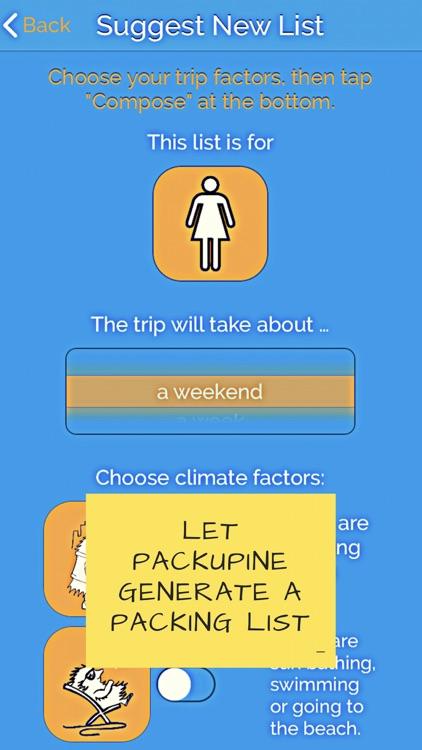 Packupine - Packing Wizard
