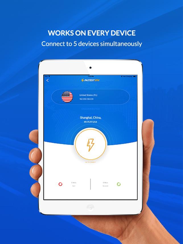 Fastest VPN - Access Best VPN on the App Store