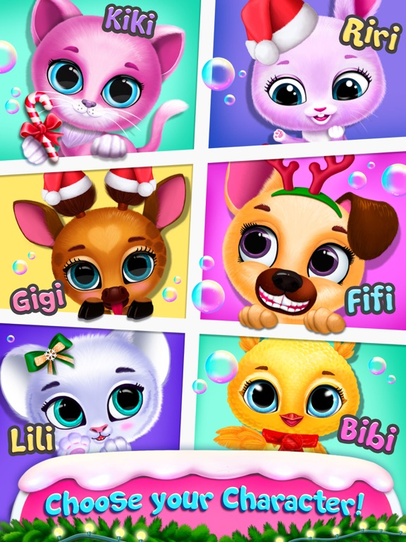 Kiki & Fifi Bubble Party screenshot 10