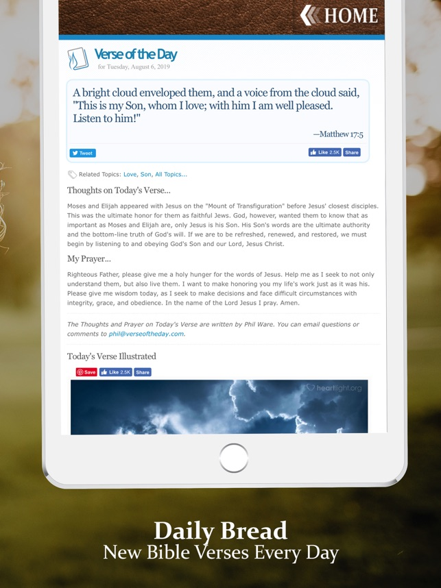 Life of God - Your Daily Bread on the App Store