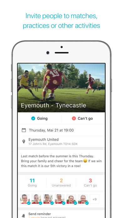Screenshot for Spond in Ireland App Store