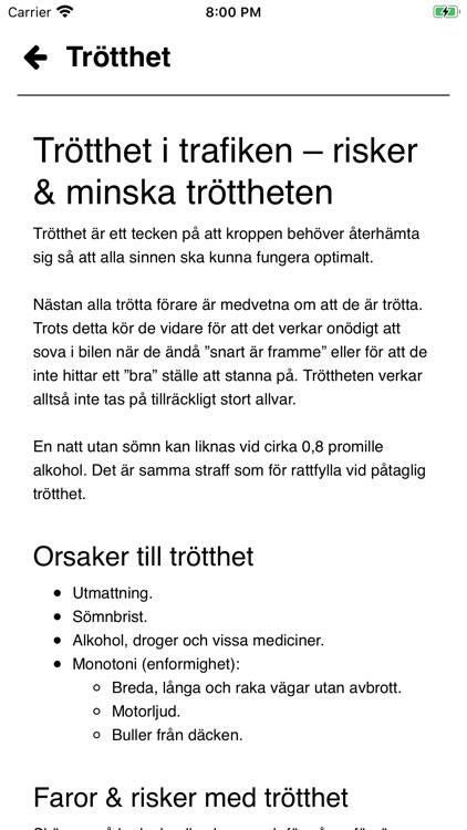 Teoriprov Körkort screenshot-5
