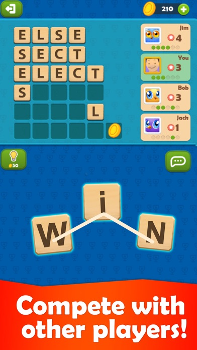 Word Olympics: Online Puzzle screenshot one