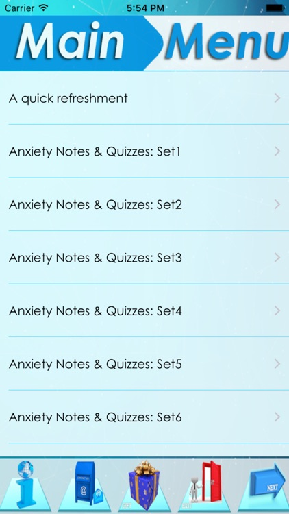 Anxiety Types, Sympt & Therapy screenshot-3