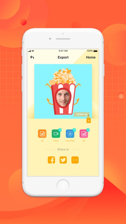 Face GifZone -Fancy Gif Reader screenshot-3