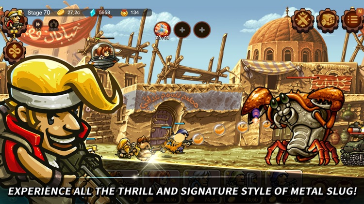 Metal Slug Infinity: Idle RPG screenshot-0