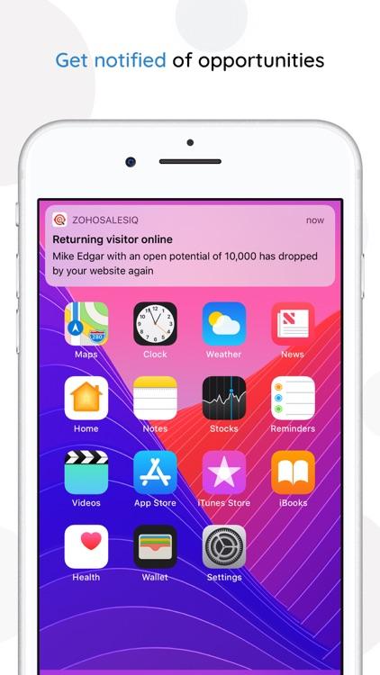 Zoho SalesIQ - Live Chat App screenshot-4