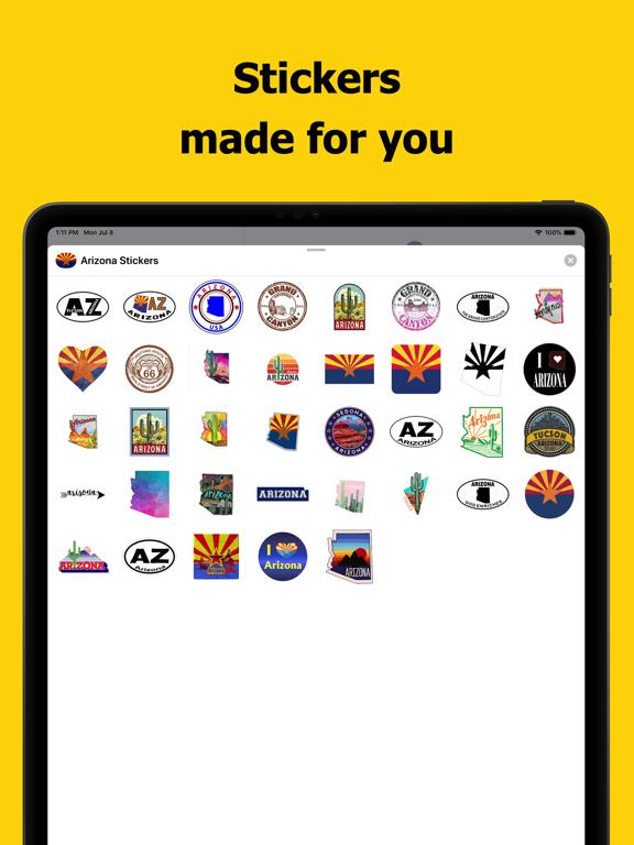 Arizona emojis - USA stickers screenshot 6
