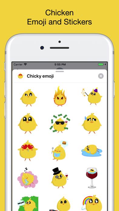 Chicky chick - chicken emoji - App - AppStore