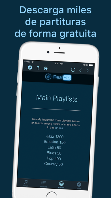download iReal Pro apps 4