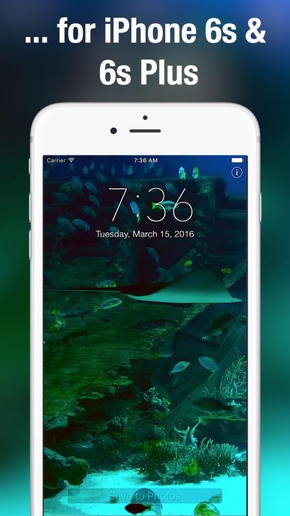 Aquarium Dynamic Wallpapers screenshot-4