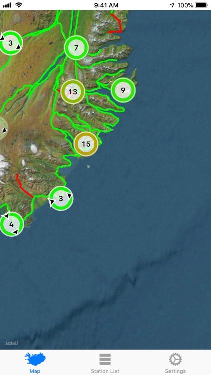 Road Weather Iceland screenshot-4