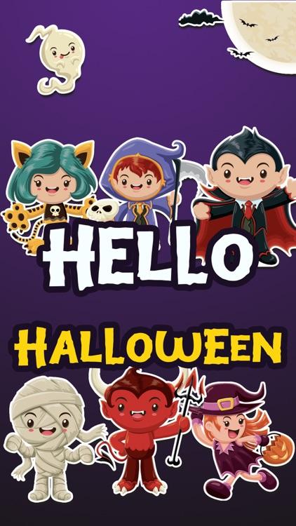 Hello Halloween Stickers