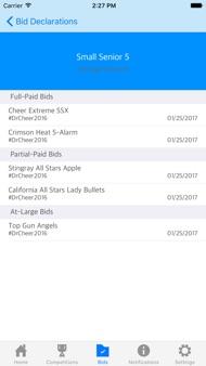 Cheer Updates iphone images
