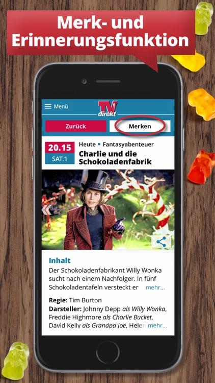 TVdirekt Fernsehprogramm screenshot-3