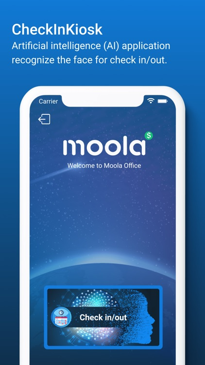 Moola Check In/Out Kiosk by Moola Software Company Limited